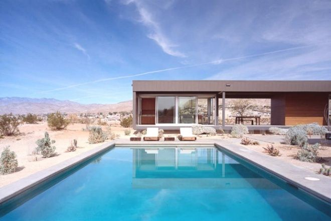 Beautiful Desert House by Marmol Radziner, USA