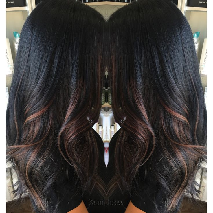 Best 25+ Highlights for black hair ideas on Pinterest
