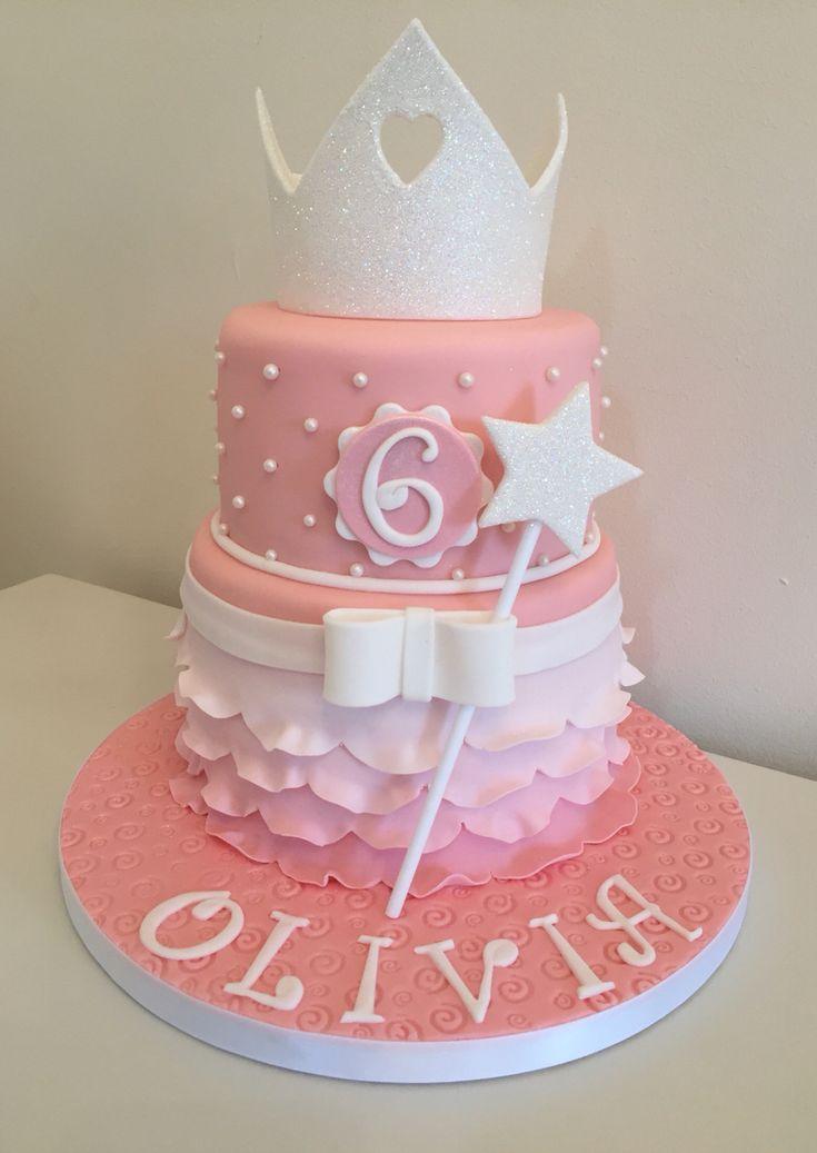 The 25 best Princess crown cake ideas on Pinterest Crown cake