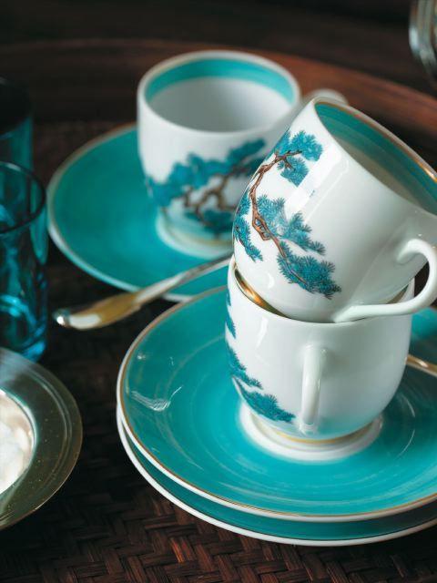 #Raynaud - Limoges #porcelain - Jardins célestes collection