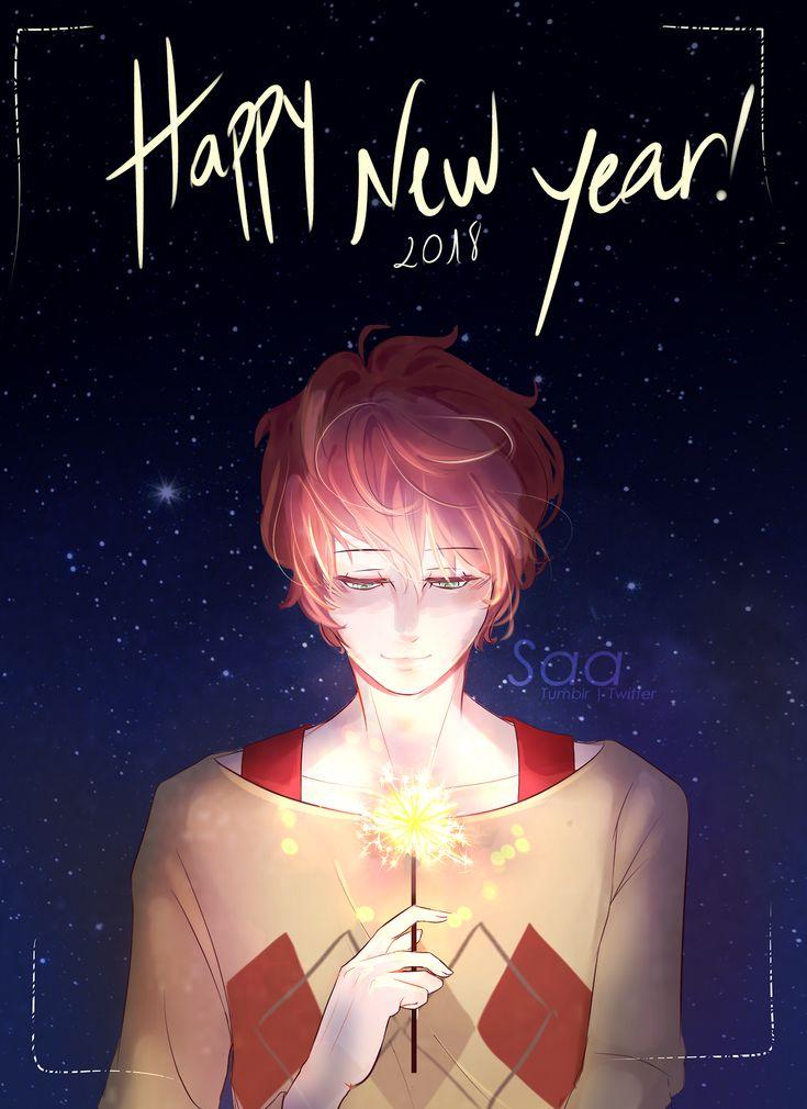 "saa-art: "" Happy new year~ (≧▽≦)♡ """