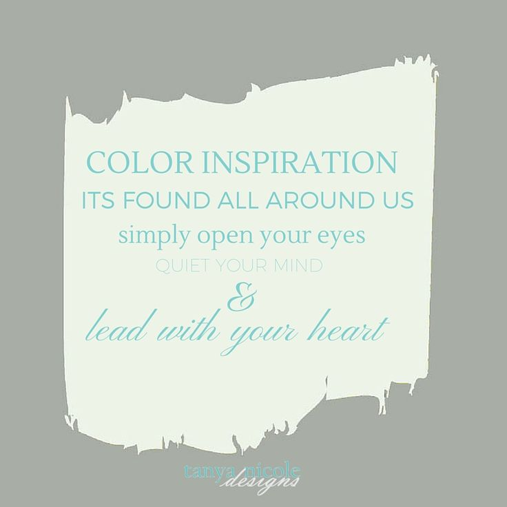 Paint Color Inspiration - Choosing the Perfect Paint Color Continued — Paint Color Inspiration - Choosing the Perfect Paint Color Continued