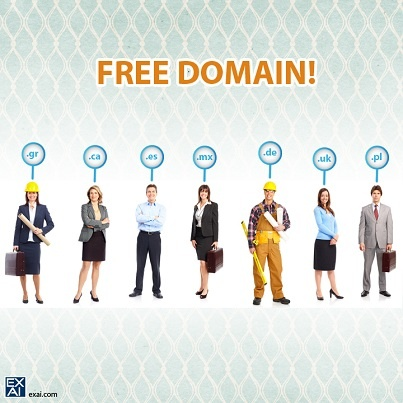 how to get a free website domain