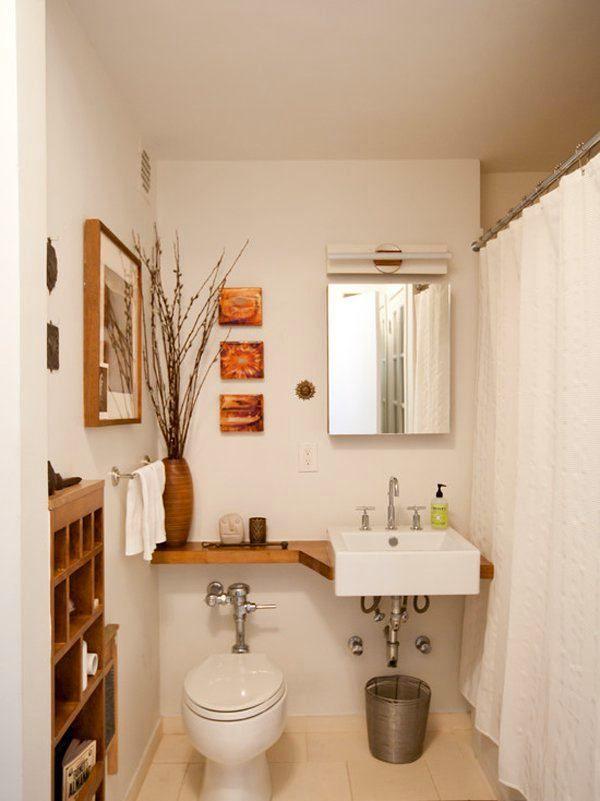 Туалет в цветах: желтый, светло-серый, коричневый, бежевый. Туалет в стиле средиземноморский стиль.