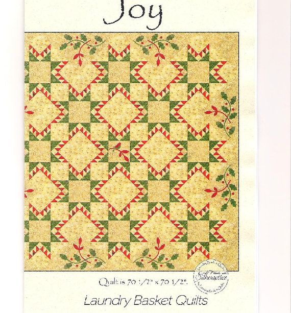 Joy by Laundry Basket Quilts quilt pattern by Edyta Sitar, CentralFabrications
