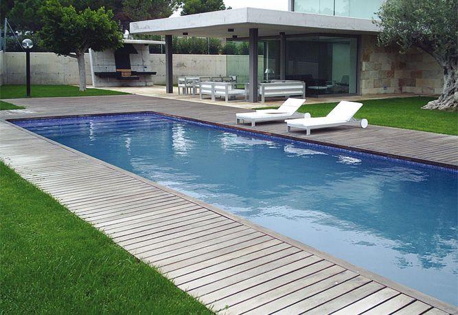 49 best piscinas images on pinterest for Diseno de albercas modernas