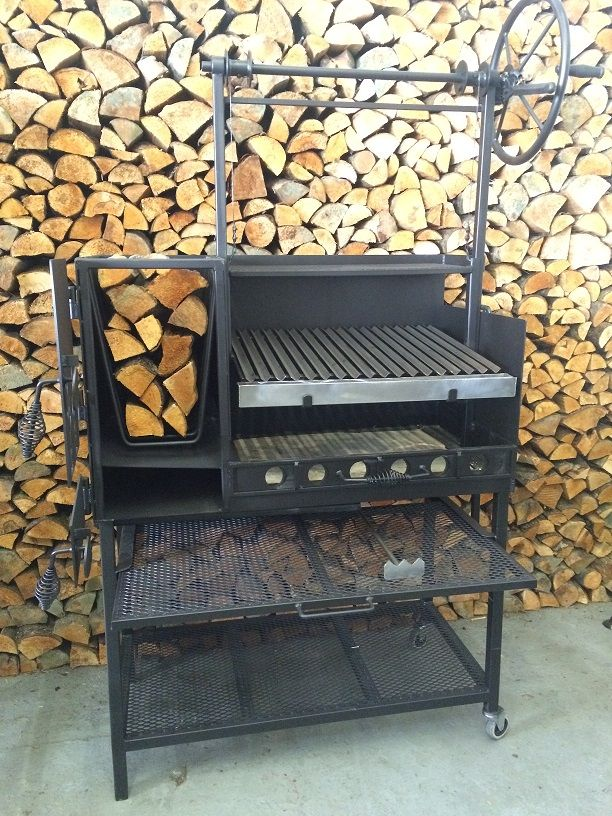 Its a ultimate wood burning grill pit for residential and small catering business use. One of the most beautiful wood burning barbecue grill pits we have ever built, these Argentine barbecue grills feature heavy duty 3-4mm thick steel construction, a side brazero (Argentine ember maker) to make embers for authentic Argentine style cooking, and a …