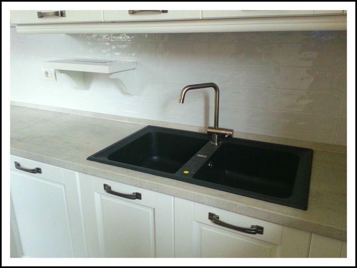 Best lavelli cucina in fragranite ideas - Lavello cucina nero ...