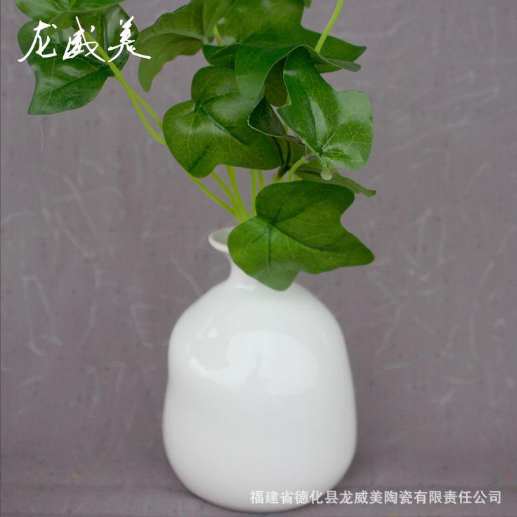 Европейские и Американские экспортной торговли оригинальный одного керамические вазы стильный домашний офис Украшения дома украшения цветок хо