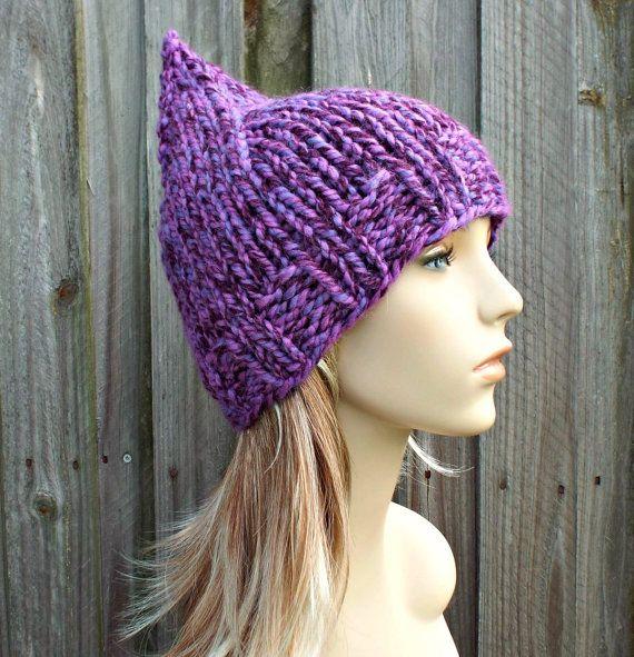 94 best images about ? Crochet Knit Pixie Hood Hats ? on ...