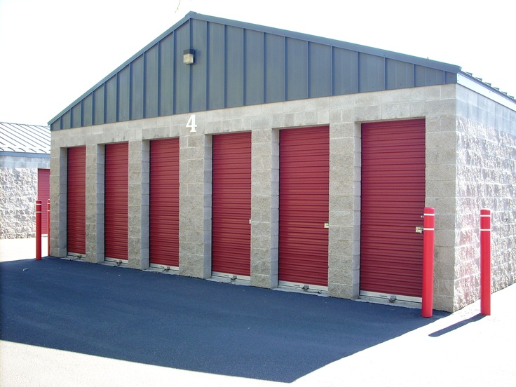 All Star offers many sizes. These units are 5' x 10'.
