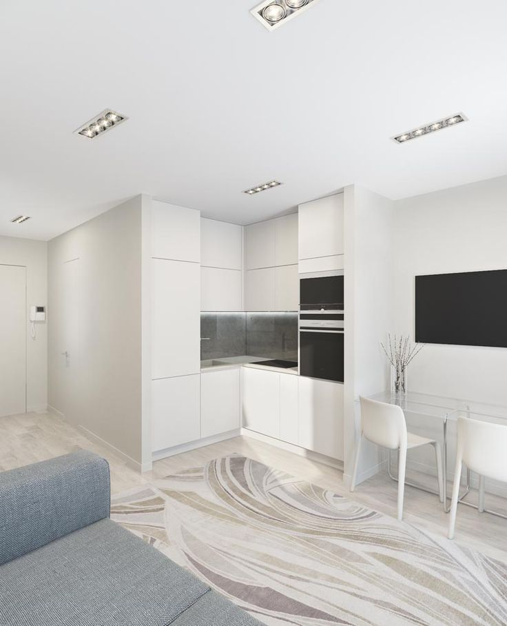 Кухня-гостиная (квартира 2)