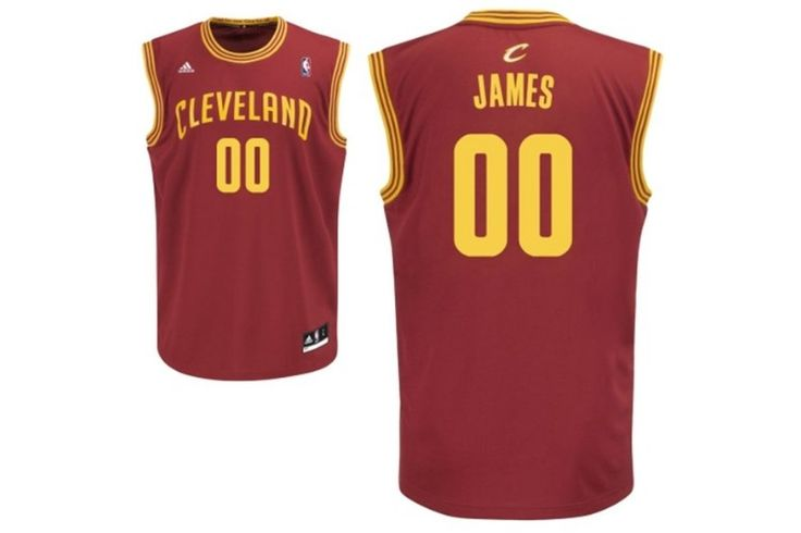 New LeBron Clevland Cavs Jersey