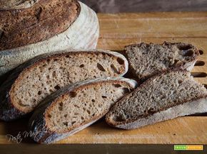 Pane antico di Sicilia con farina di Tumminia  #ricette #food #recipes