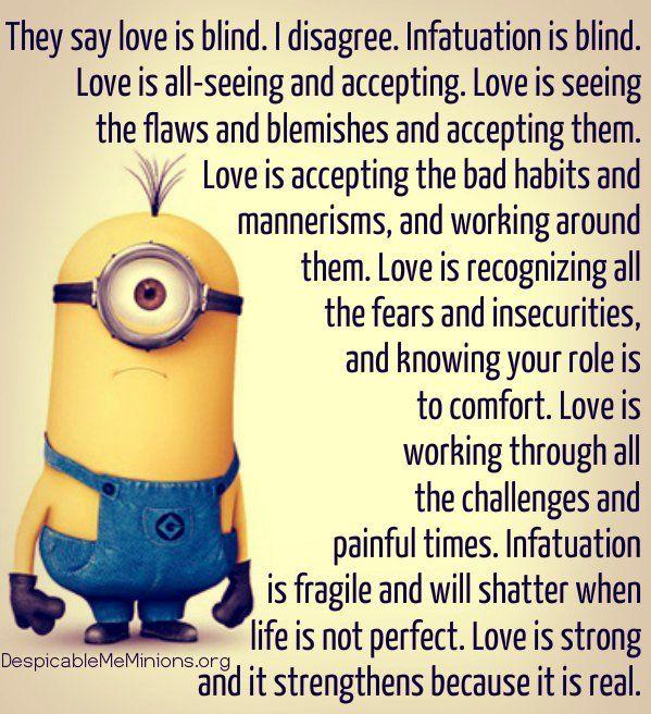 Minion Love Quotes Romantic. QuotesGram