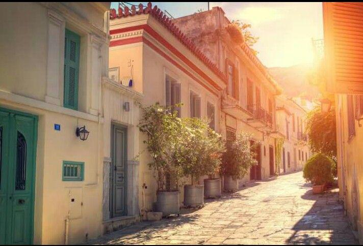 Athene ochtendzon