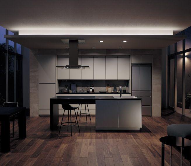 イメージ写真から探す パナソニックシステムキッチン Panasonic テーブルプラン システムキッチン キッチン