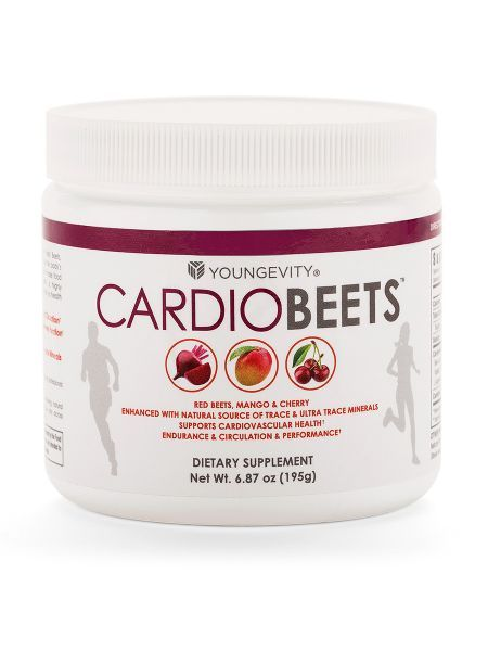 <p>Give your body the nutritional support it needs to help improve cardiovascular endurance and performance with CardioBeets!</p>