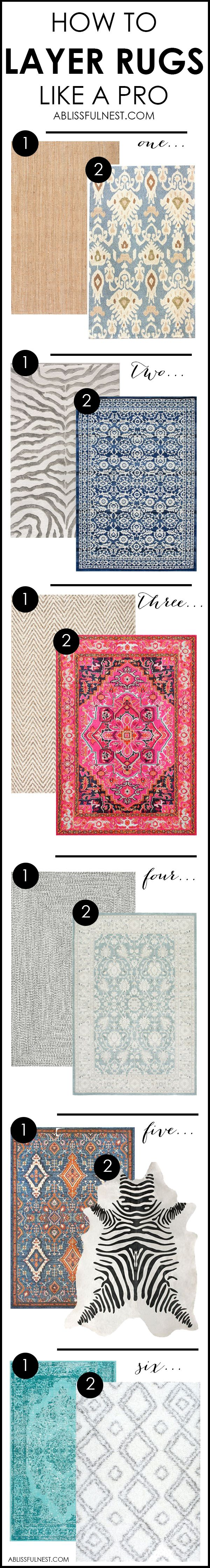 It's time for a change! Show some designer flare and learn how to layer rugs like a pro. The designers all do it for a reason. It makes BIG impact.…