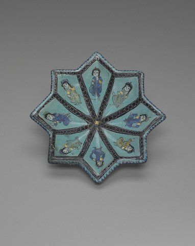 Star Shaped Dish 12th–13th century #Seljuk #Turk All Seljuk History (@seljukname) | Twitter