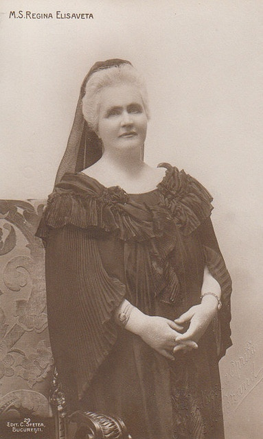 Königin  Elisabeth von Rumänien, Queen of Romania