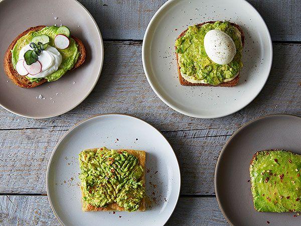 5 Mouth-Watering Variations on Avocado Toast http://greatideas.people.com/2014/09/18/avocado-toast-recipes/