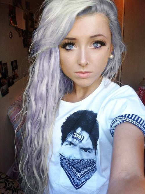 Light purple hair | 2014 | Pinterest