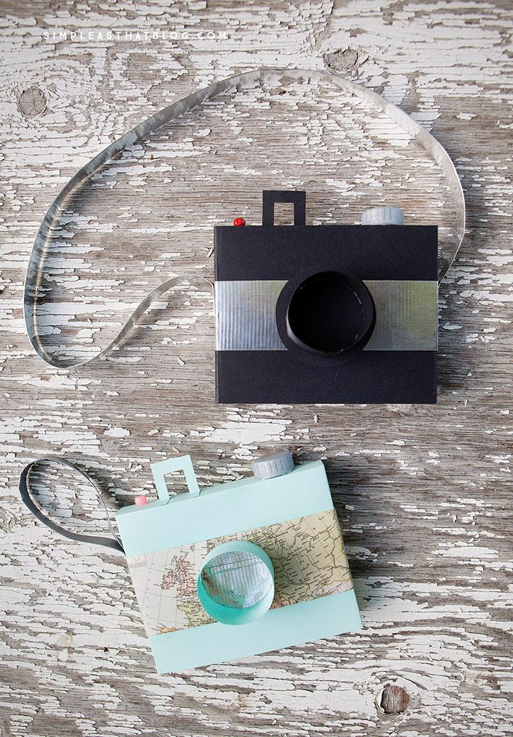 Simple DIY handmade toy camera