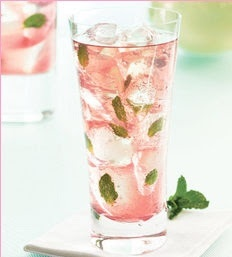 Raspberry mojito  EAT DRINK PRETTY: Pretty pink cocktails