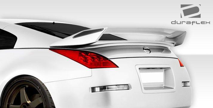 03 08 Fits Nissan 350Z 2dr N 2 Duraflex Body Kit Wing Spoiler 107696 | eBay