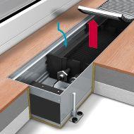 Электрические конвекторы внутрипольного отопления Mohlenhoff ESK Артикул: ESK 180-110-750 Внутрипольные конвекторы отопления Mohlenhoff ESK электрические