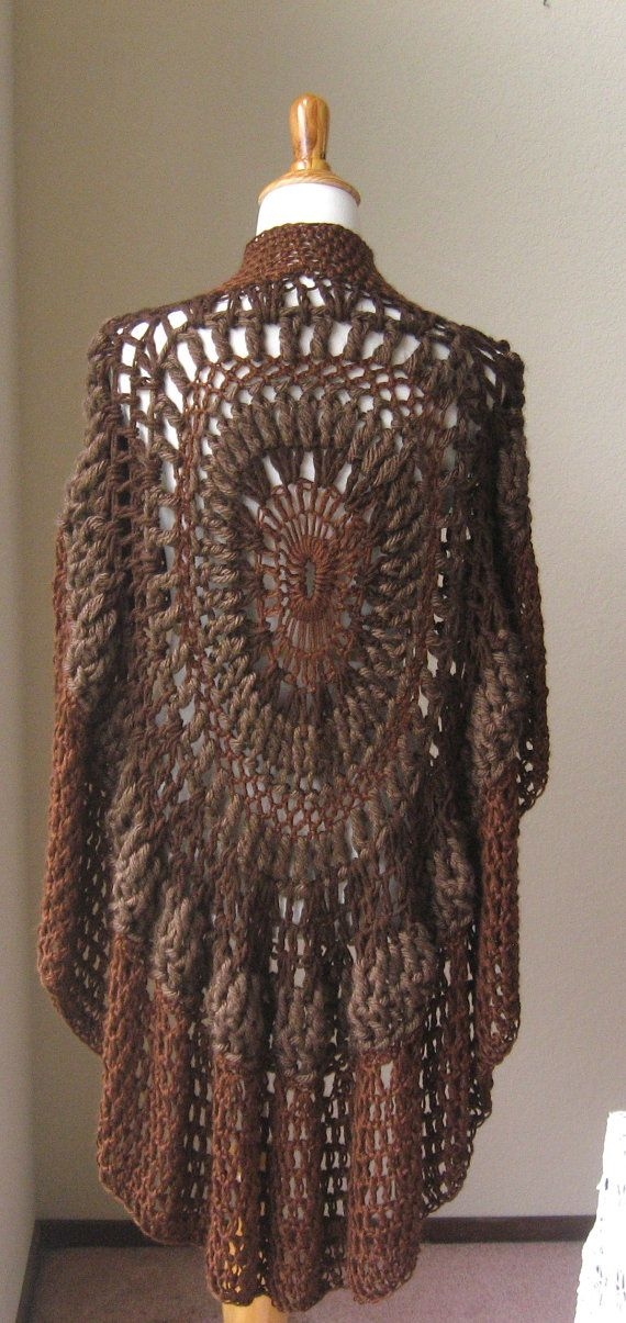 Poncho Vest Knitting Pattern : Images about capes ponchoes on pinterest drops