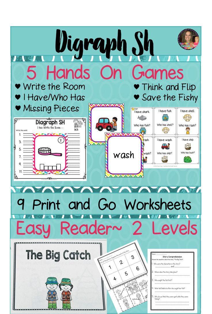 56 best diagraph images on Pinterest | Preschool worksheets ...