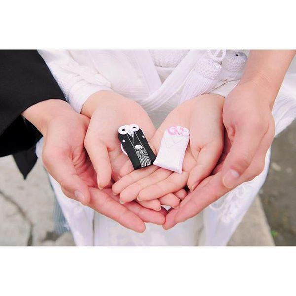 乃木神社の夫婦の幸せを願うよりそひ守が素敵すぎる