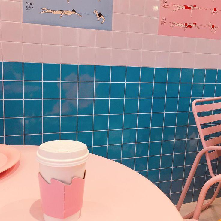 pink pool cafe (at Stylenanda pink pool cafe)