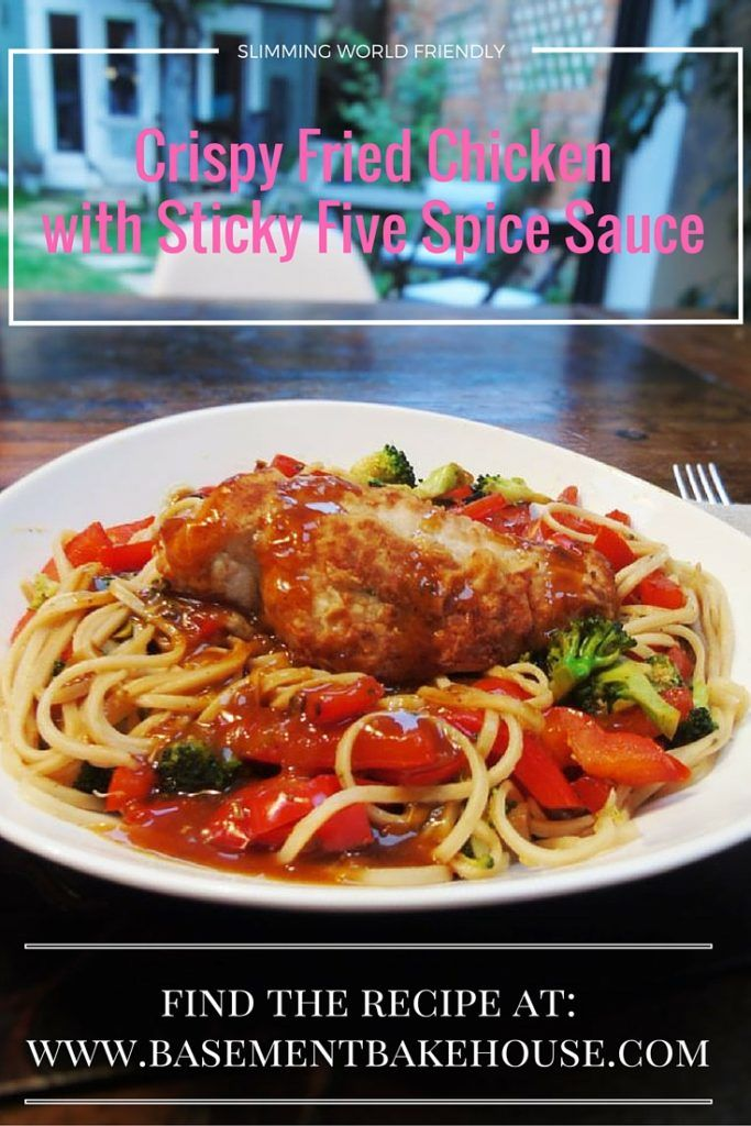 Crispy Fried Chicken with Sticky Five Spice Sauce - Slimming World Recipe - Low Syn - 1 Syn - Quick Dinner - Fakeaway - Crispy Chicken - Five Spice Sauce