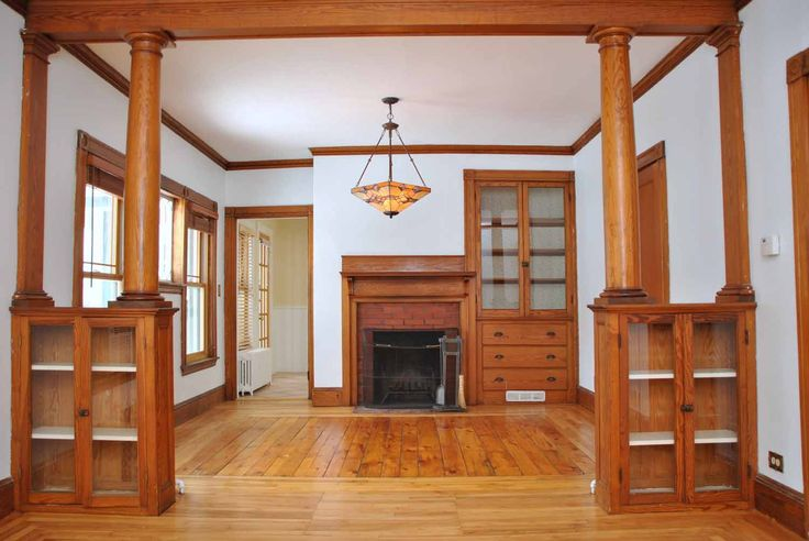 Charming Deering Highlands Bungalow – This Bungalow located in Deering Highlands in Portland was built in 1921 and features all original moldings and built-ins characteristic of bungalows. The wonderful home boasts a lovely fireplace in the quaint dining room which is separated from the living room by beautiful hardwood columns atop built-in cabinetry within the supports. A delightful enclosed heated porch making for an excellent separation from the living area for added peace and quiet.