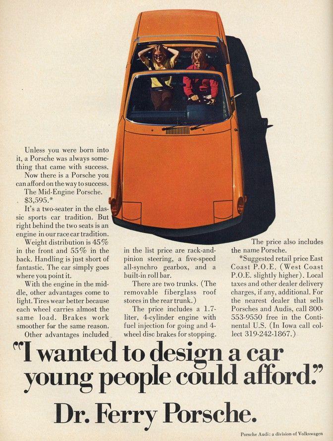 Dr. Porsche's wonderful idea