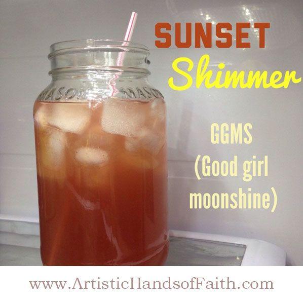 Sunset Shimmer GGMS Good Girl Moonshine #THM #Trimhealthymama