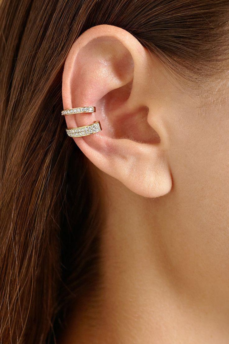 42 best ear cuff images on pinterest ear cuffs earrings and ear compre os materiais necessrios para fazer seu prprio ear cuff na lourisbijoux baditri Choice Image