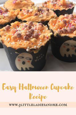 Easy Halloween Cupcake Recipe