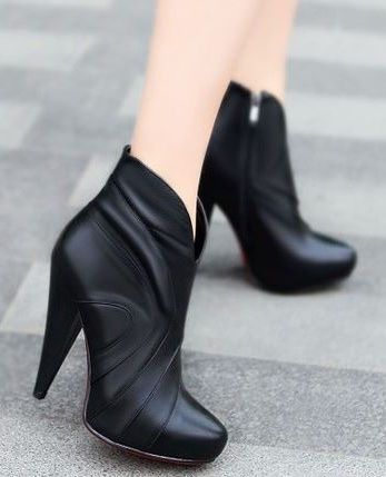 Not usually an ankle boot fan but I really like these! Tulip High Heel Boots