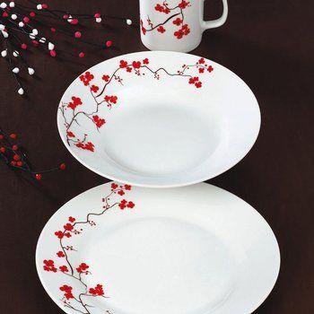 Vajilla De 9 Piezas De Porcelana Fina Suecia