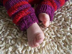 Hier nun meine versprochene Anleitung für die Babystulpen . Ich beschreibe genau, wie ich gestrickt habe. Für Abweichungen sind der Phantas...