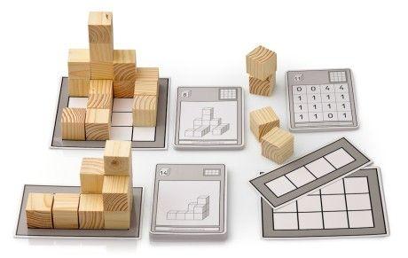 Würfelbauten mit Selbstkontrolle Arbeits- und Lehrmittel Mathematik