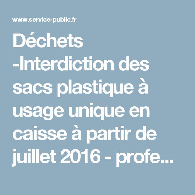 Interdiction Des Sacs Plastiques En 2016 : Id?es sur le th?me caisses en plastique