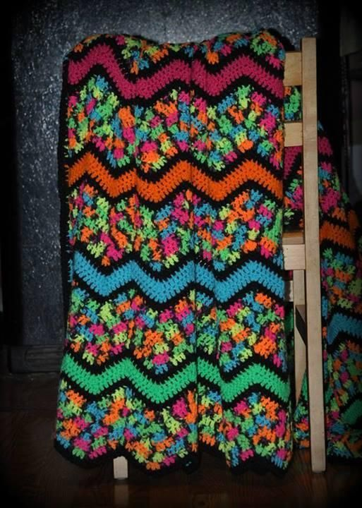 221 Best Images About Afghans Ripple Zig Zag On Pinterest