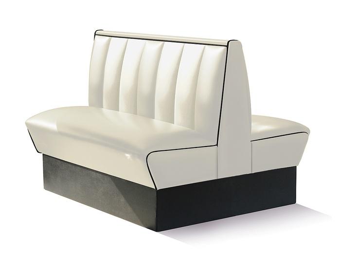 #divanetti #booths HW-120DB Off White H: 93 cm / W: 120 cm / D: 115 cm