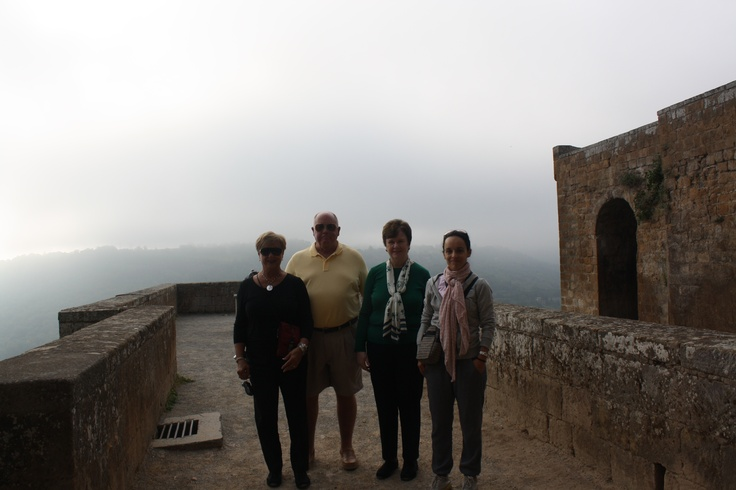 In #Orvieto with 4 lovely guests from #Alabama and #Virginia !