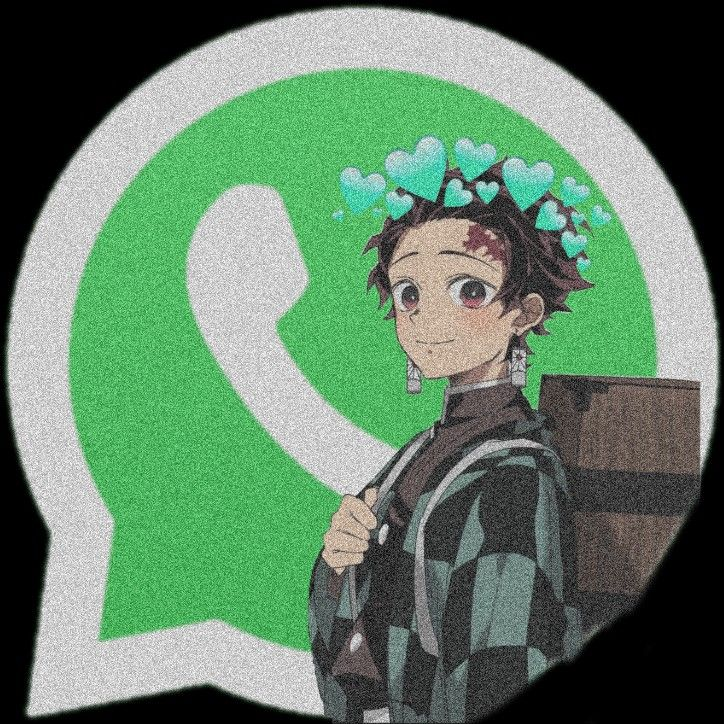 Whatsapp anime app icon in 2020 Android app icon, Ios